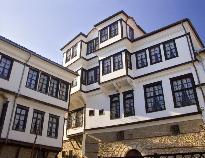 Traditional house in Ohrid